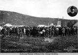 The first lot sold at Nenana, Alaska, Aug. 24th, 1916, and the purchaser, Harry E. St. George.