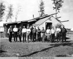 Main office, A.E.C., Nenana, Alaska, Aug. 1, 1916.