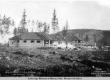 A.E.C. cottages at Nenana, Alaska, Aug. 24th , 1916.