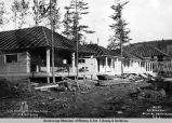 A.E.C. cottages at Nenana, Alaska, Aug. 24th, 1916.