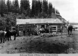 Store at Residency 4, mile 373, Aug. 28th, 1917.