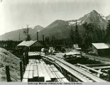 Sawmills at mile 3 near Seward.