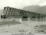 Knik River bridge looking southeast.