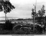 Docks and harbor, Anchorage, Alaska - 8/31/23.