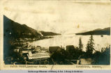 Waterfront, looking south, Ketchikan, Alaska.