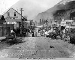 Broadway. Skaguay [sic] Alaska. May 20th 1898.