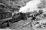 Excursion train, summit, White Pass.