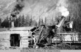 Steam shovel, mile 40, A[laska] R[ail]r[oad].