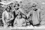 Family of Copper River Indians, Alaska.