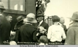 President Harding in the New Empire, Anchorage, Alaska, July 17, 1923.