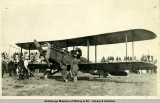 Plane from Black Wolf Squadron, 1920.