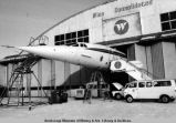 Concorde - cold weather tests - Fairbanks, 2-7/17-74.