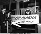 Historic Anchorage-Seattle inaugural [flight].