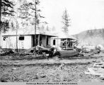Cottages of A.E.C., Nenana, Alaska, July 30th, 1916.