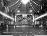 Interior Eagle Hall, 12th Annual Ball, F.O.E., Nome, Alaska, Feb. 5th, 1910.