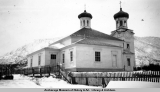 Holy Ascenscion [sic] Russian Orthodox Church, Unalaska, January 1941.
