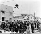Blanket toss in Nome.