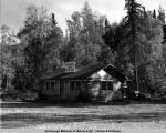 Spring Creek Lodge, Chugiak, Alaska, 1949.