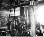 Alaska. St. Michael. Artificial refrigeration machine, Williams cold storage plant. July, 1938.