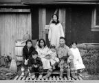 Leo Augrook and family. Elephant Point, Alaska.