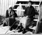 Kassan [sic]. Mrs. Emma Evans and sister. 1938.