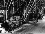 Metlakatla. Can-making machinery. Annette Islands [sic] Canning Company. 1938.