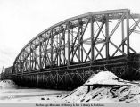 Susitna bridge. Dec. 23 - 1920.