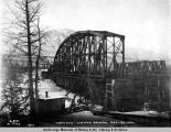 North end - Susitna bridge. Dec. 23 - 1920.