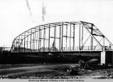 Steel wagon road bridge across Tanana River slough, Fairbanks, 10/1 - [19]20.