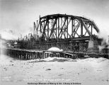 Susitna River bridge. Dec. 8 - 1920.