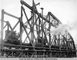 Susitna River bridge, Dec. 8 - 1920.