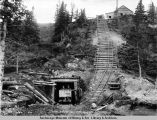 Healy River coal mine, mile 358. Oct. 1/1920.