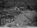 Olson & Spalding tunnels. Coal Creek. July 22 - 1921.