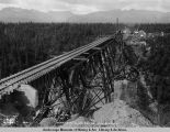 Hurricane Gulch bridge. July 31 - 1921.
