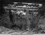 Looking down over tram-way from hill. 7-19-1921.