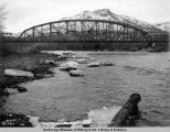 Susitna bridge looking east. May 16 - 1921.