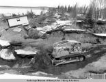 Turnagain area damage after 1964 earthquake.