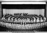 West Anchorage H[igh] S[chool] Band.
