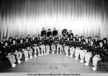 39 senior band members, West Anchorage H[igh] S[chool] Band.