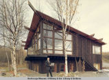 Frank Brink's home - So[uth] Anchorage - on bluff.