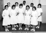 Anchorage Community College practical nurses, graduation.