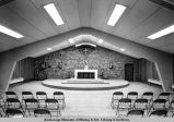 Interior, Catholic Church, Soldotna.