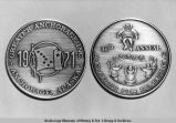 1971 Anchorage Fur Rendezvous commemorative medallion.