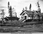 Judge Leo. David's residence. 2d Ave. Anchorage. Sep. 22d 1918.
