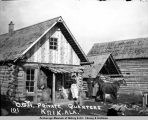 O. G. H. private quarters, Knik, Ala[ska].