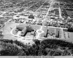 Aerial view of Alaska Native Service Hospital.