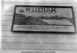 Kodiak Guides Association sign.