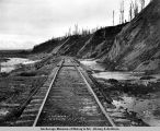Mud slides mile 139 A.E.C. R[ailwa]y. May 10-1918.