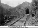 North portal tunnel no. 2 - mile 52. A[laska] N[orthern] R[ailwa]y.