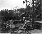 A.E.C. sawmill at Indian River, Sep. 2d, 1918.